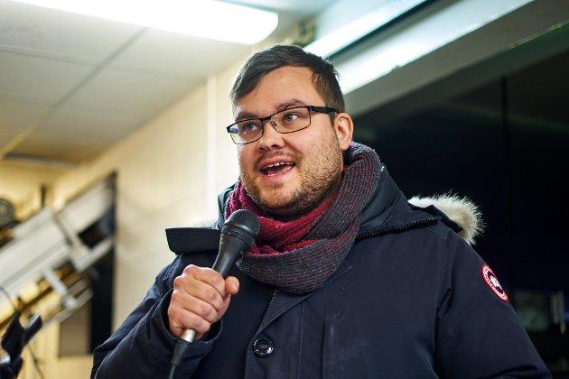 MANGE TRUSLER: Tarjei Jensen Bech (Ap) har måttet tåle en rekke trusler i sitt virke som politiker.