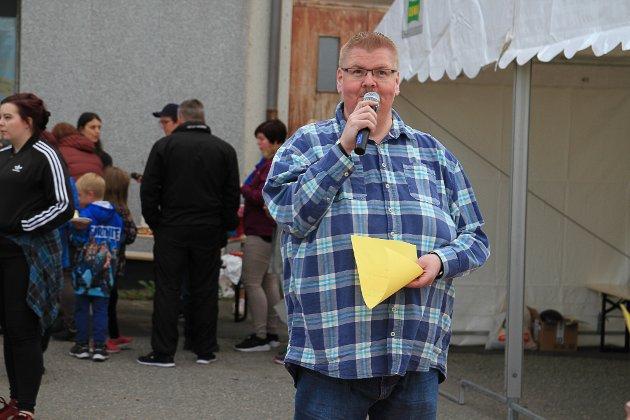 MANNEN BAK: Jan Einar Straumsnes har lenge tenkt på å lage en festival om høsten. Nå benyttet han anledningen til å lage en miniversjon under bolystuka.