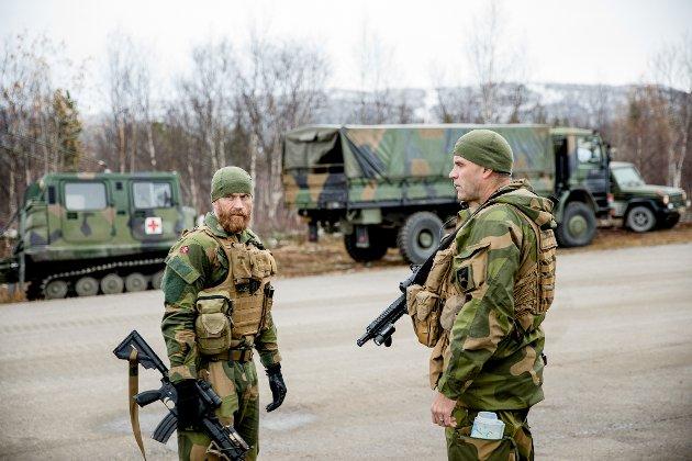 Sjefssersjant og sjef i Brigade Nord under Fellesoperativ arena.