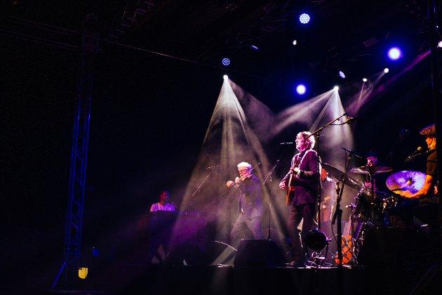 VAMP: Haugesund-bandet spilte for en fullsatt Vadsøhallen fredag kveld.