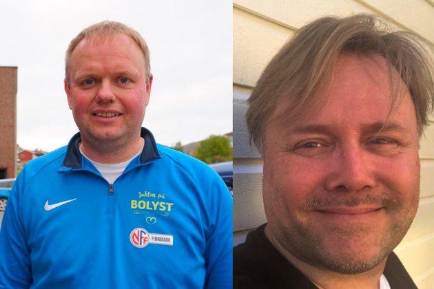 BOLYST: Roger Finjord og Robert Greiner. Montasje.