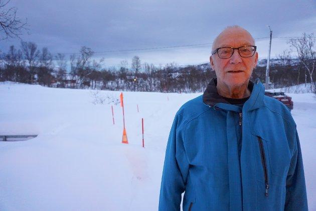 I OLDERFJORD: Trygve Nilsen fra Olderfjord har sterke meninger om eiendomsskatt.