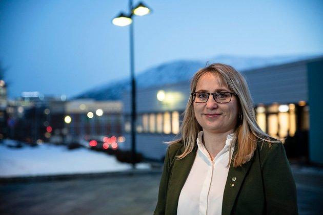 Karin Eriksen (Sp), fylkesråd for næring og miljø i Toms og Finnmark fylkeskommune.