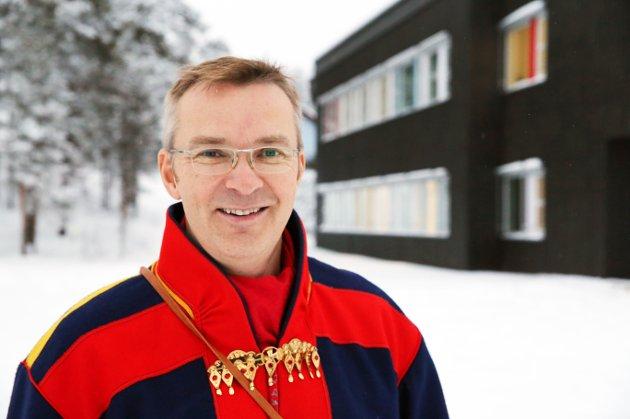 Amund Peder Teigmo, klinikksjef ved Sámi klinihkka, Finnmarkssykehuset