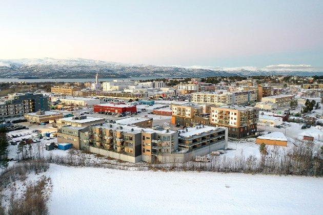 SENTRALISERING: Rådmannen i Alta tror han skal presse 80 prosent av nybygg inn som fortetning i sentrum. Det er en dårlig ide.
