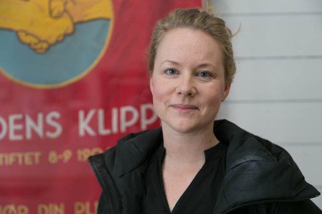Amy er 1. kandidat på SVs stortingsliste for Finnmark. Hun er også lærer ved Kirkenes videregående skole og mor til ei av ungdommene som til høsten begynner på videregående.