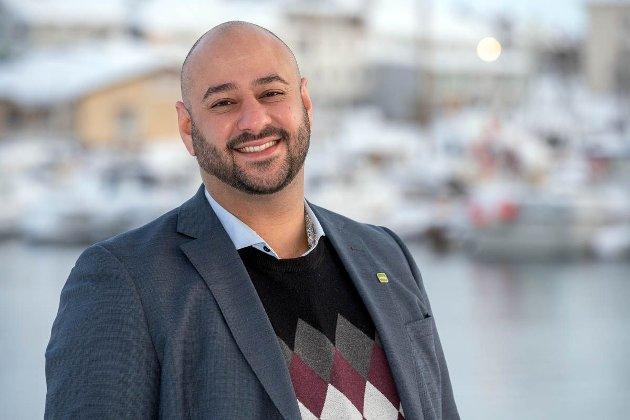 Listetopp for MDG i Finnmark Farid Shariati mener at politikere som støtter Pride må være allierte hele året.