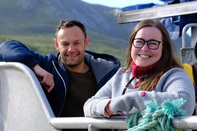 Torgeir Knag Fylkesnes og Katrine Boel Gregussen, Stortingskandidater for Troms SV