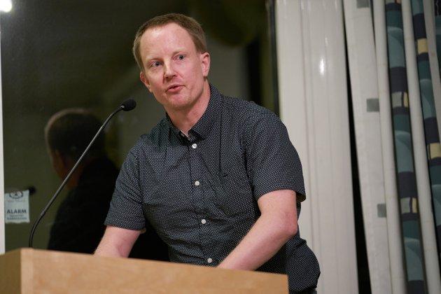 Vegard Austmo i Levanger Arbeiderparti etterlyser status på vedtaket om gågate fra 2014.