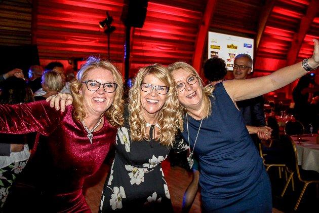 Gro Jødahl, Maj Liss Pettersen og Kirsten Nyborg Bråthen.