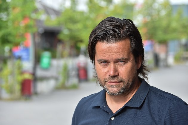 Trym Helbostad, journalist i Indre Akershus Blad.