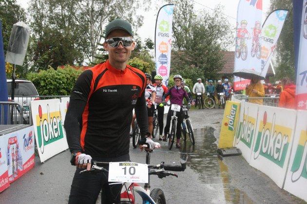 KLAR FOR LØP: Tidligere pådriver for sykkelrittet, Pål Thoreid, syklet selv i Tour de Trento.