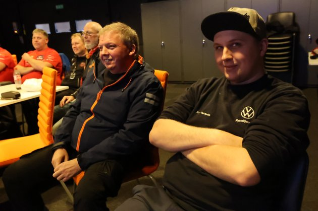 Morten André Næss (t.v.),  Morten Nordby, Knut Søderstrøm, Kent Gunnar Slettbakk og Kevin André Slettbakk gjør seg klare før løpet starter.