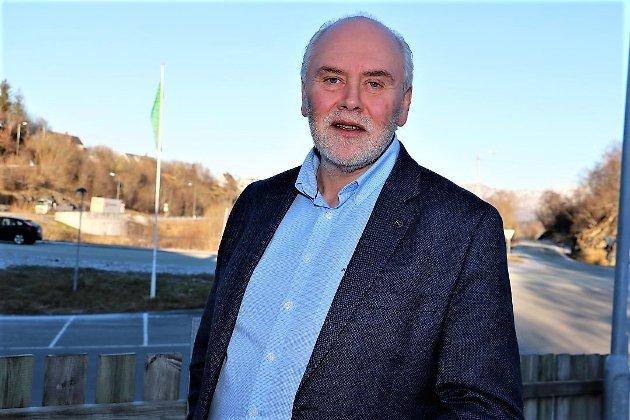 STYRELEDER: Kalle Tysnes er styreleder i Alstahaug næringsforening.