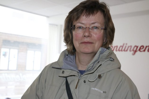 OPPFORDRER TIL EVAKUERING: Margit Steinholt i Rødt Alstahaug.