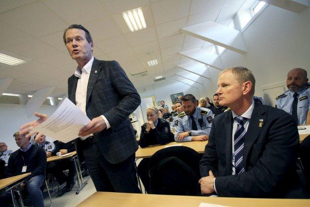 Hjalp ikke: Alf Johan Svele og Erlend Larsen har stått på for fengselet. Til ingen nytte. Arkivfoto