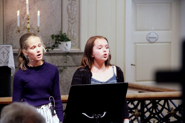 Ida Elise G. Ims og Nora H. Dalseths tostemte stemmeprakt passet til både italienske klassikere og til moderne popmusikk.