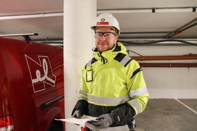 Elektriker i Strandholmen 1, André Lauritsen.