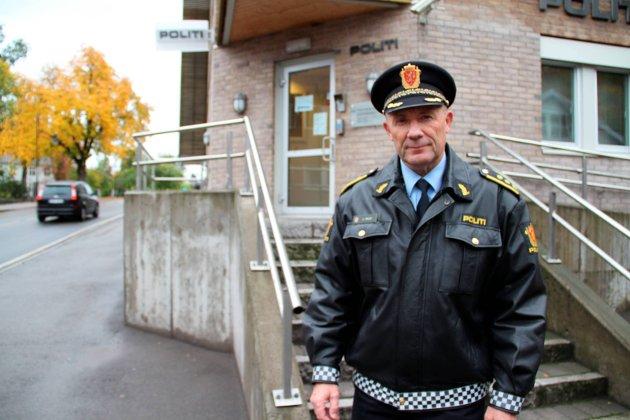 Politistasjonssjefen: Ulf Malm kjente sitt lokalmiljø, og aksjonerte da noe skjedde. Arkivfoto
