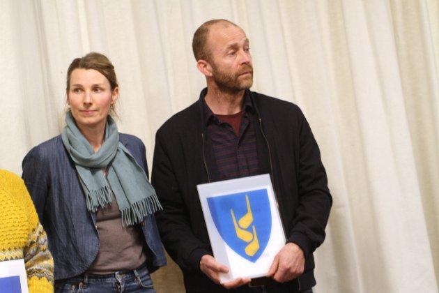 Daniel Koot og Silje Ekornes kom til finalen med sitt forslag Kornaks.