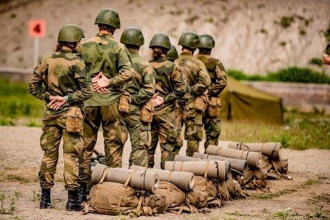 Stor vilje: Tre av fire vil delta i forsvaret av Norge, skriver leder av Nordre Vestfold Forsvarsforening, Trygve Eriksen. Foto: Nettavisen