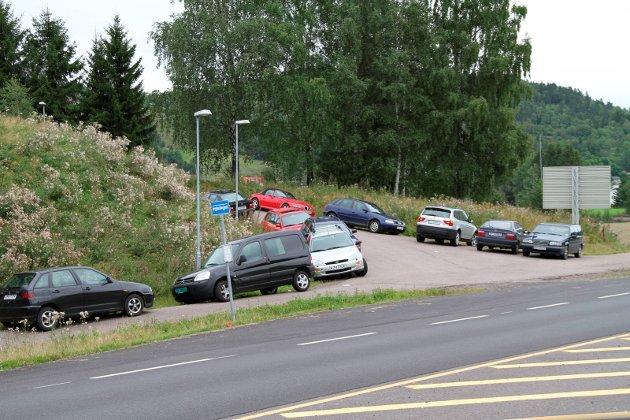 Kreative løsninger: Slik har det sett ut i mange år i området. Foto: Pål Nordby