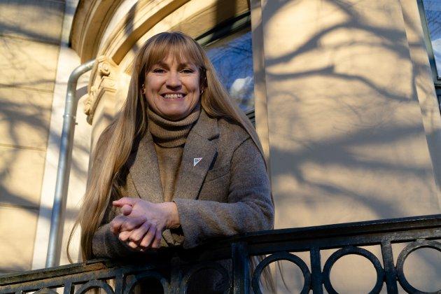 Vil ha storinnsats mot sosiale forskjeller: Grete Wold, fylkesleder og 1. kandidat stortingsvalget for SV.
