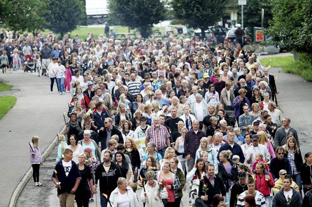 Ti år siden: Torsdag 22. juli er det ti år siden Norge for evig ble rystet av terrorhandlinger i Oslo og på Utøya. 77 mennesker ble drept. Foto: Pål Nordby
