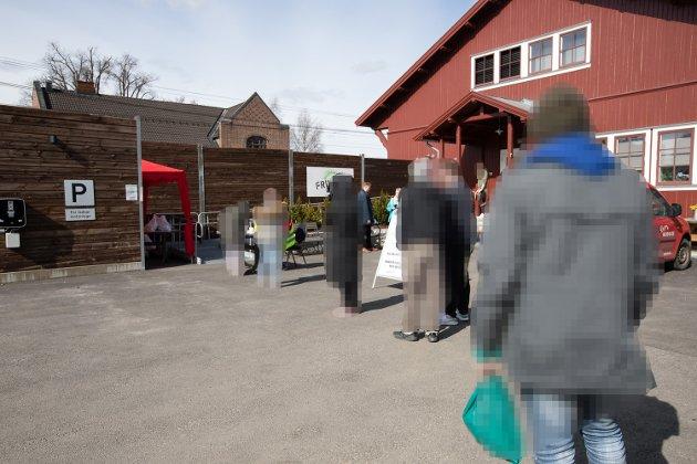 Matkø hos Frivilligsentralen på  Jessheim.