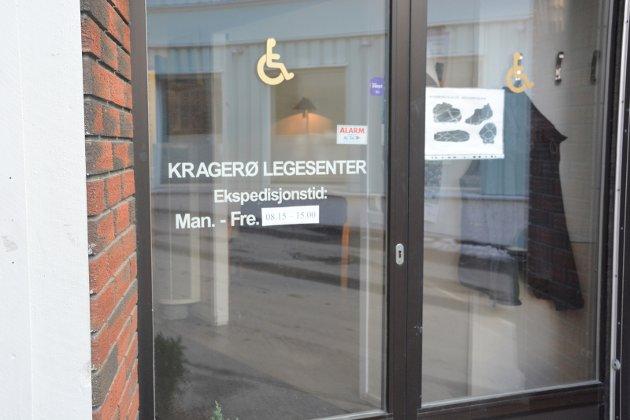 Kragerø Legesenter i Kirkegata.