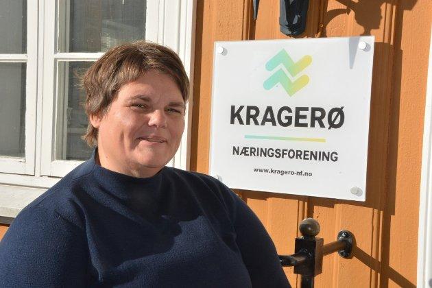 Daglig leder Janna Pihl i Kragerø Næringsforening.