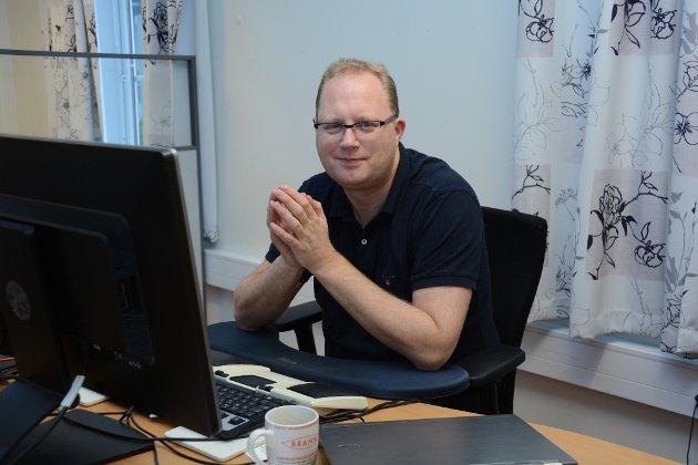 Redaktør Tomas Bruvik