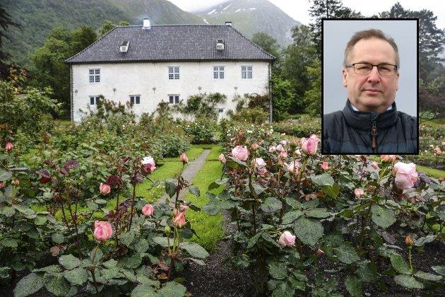 Knut Førland meiner det er heilt feil av kommunen å kutta i støtta til Baroniet Rosendal. (Illustrasjonsbilde: Arkivfoto).