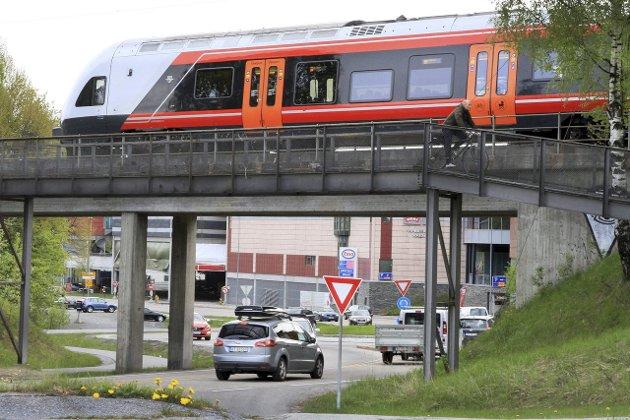 KONGSBERGBANEN: På sikt ønsker Kongsberg doble spor, men det sto det ikke noe om i NTP.