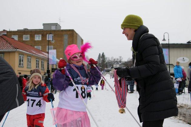 Kostymerenn for barna under Kongsberg Vinterfestival 2016. Foto: Stine Ljungquist Knudsen