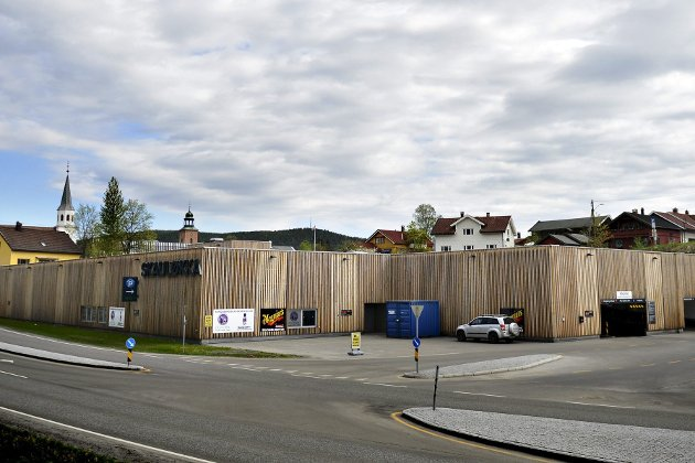 BOLIGER PÅ TAKET: Her ønsker Studentsamskipnaden å bygge 180 studentboliger. FOTO: Jan Storfossen