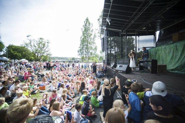 Barnivalen: Angelina Jordan opptrådte på Barnivalen i 2014. I år er hun tilbake på festivalen i festivalen. Foto: Irene Mjøseng