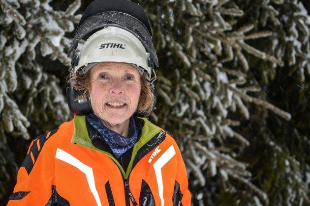 Juletre til Gouda. Ordfører Kari Anne Sand. Foto: Mona Sandviken