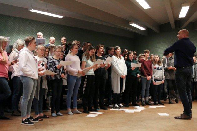 Kongsberg Ten Sing markerer 40-årsjubileum.