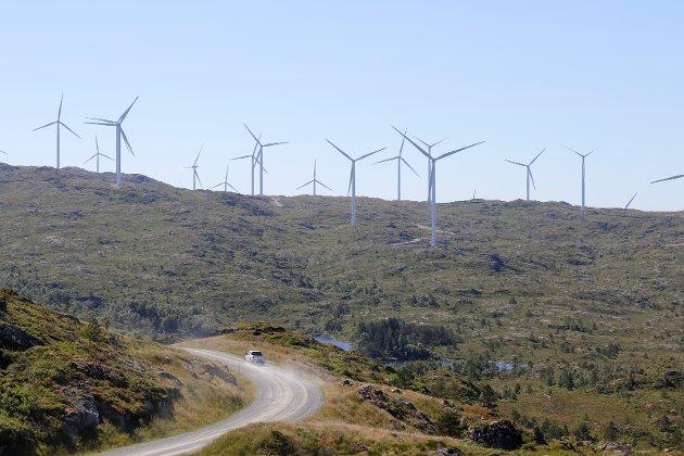 Midtfjellet vindkraftanlegg