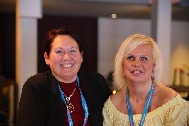 Leontine Zakariassen og Mary-Ann Tabrizi