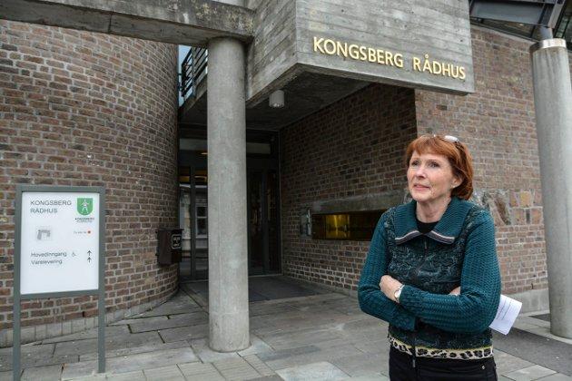 INNSENDEREN: Kari Anne Sand, ordfører i Kongsberg og fylkesleder i Buskerud Senterparti.