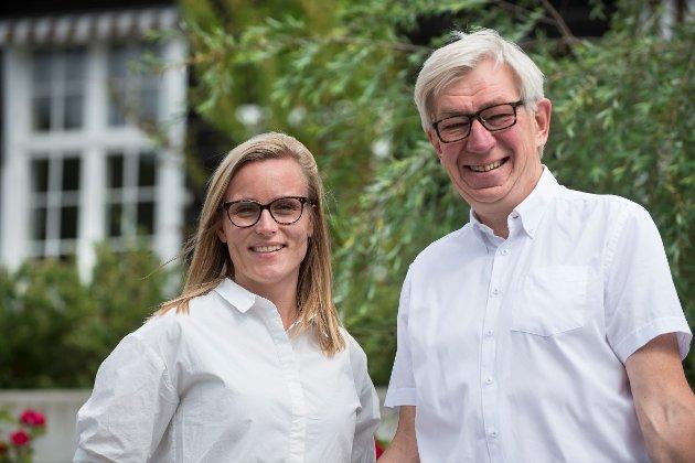 Line Spiten og Helge Evju