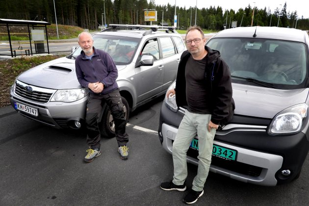 Jan Storfossen og Christian Mauno testet hvilken av veiene som er raskest. Den gamle eller den nye?         E134