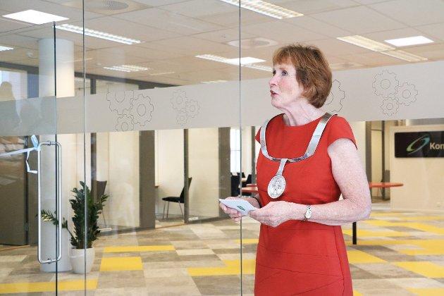 Fra åpningen av Kongsberg Innovasjon i nye lokaler i KTP