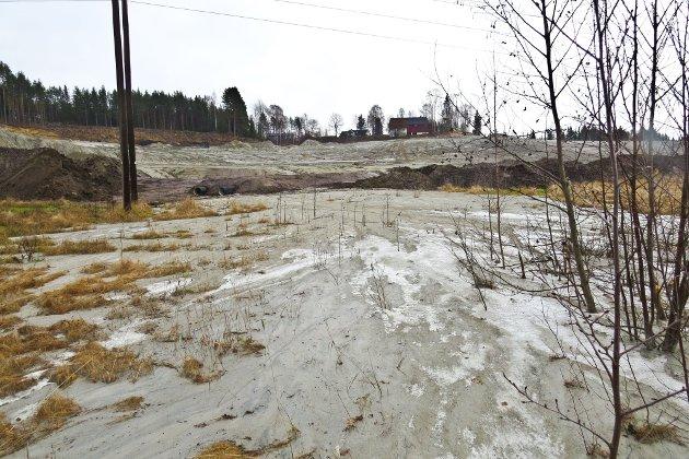 En av årsakene til at det blei omfattende erosjon og utvaskinger av finstoff til Lågen var at området inneholder noe silt.