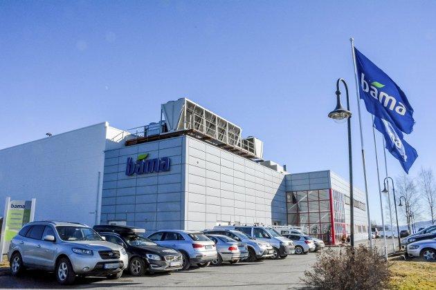 Fra Lierstranda til Tranby: Bama Industri vokser ut av lokalene på Lierstranda. Selskapet har derfor kjøpt  Kværnertomta på Tranby.