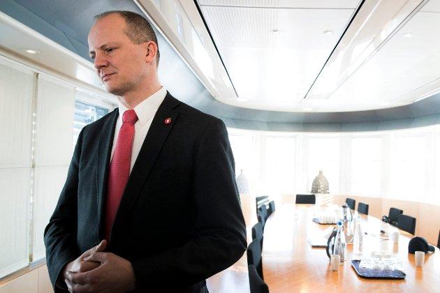 Samferdselsminister Ketil Solvik-Olsen svarte ikke på invitasjonen fra initiativtagerne til grasrotmøtet. Foto: Berit Roald / NTB scanpix