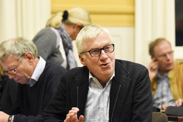 Tviler på Viker: Høyres gruppeleder Søren Falch Zapffe.