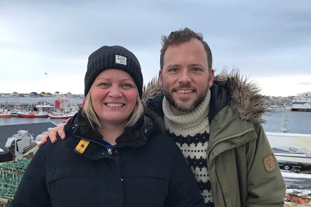 Audun Lysbakken her sammen med Nordland SVs 1. kandidat Mona Fagerås